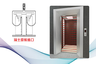 光幕式電梯門